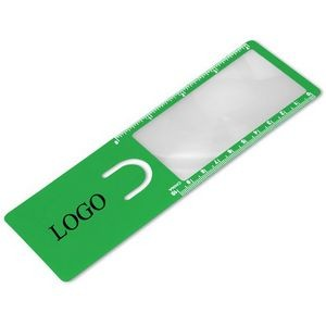 Bookmark Magnifier Ruler
