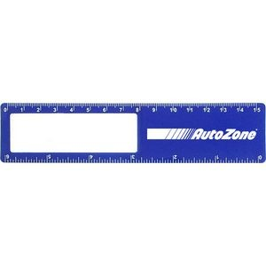 Magnifier Bookmark w/ Metric Ruler